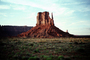 Mitten, geologic feature, butte
