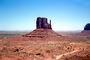 the Mittens, Monument Valley, geologic feature, butte, NSAV04P03_06
