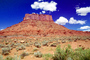 Mesa, Mountains, Castle Valley, east of Moab, geologic feature, clouds