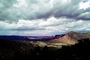 Mountains, clouds, Castle Valley, east of Moab