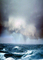 Stormy Sky, Seas, Whitecaps, angry clouds, downpour, rain, rainy, Rough Ocean, Turbulent Waves, NWED02_010B