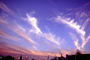 Cirrus Clouds, Sunset, Sunrise, Sunsight, Sunclipse, Dawn, Dusk, Twilight, horsetails, NWSV20P04_18