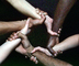 clasping hand, multi racial, ethnic, interracial, culture, cultural, ethnic diversity, multiethnic, multiracial