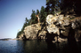 Jumping off a Cliff, Bear Island, Penobscot Bay, Maine, PAFV01P04_17