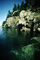 Jumping off a Cliff, Bear Island, Penobscot Bay, Maine, PAFV01P04_18