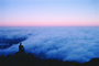Mount Tamalpais, Fog, Sunrise, California, USA