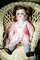 Girl Doll in a Wicker Chair, Robe, Lace, PCDV01P08_09