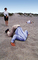 ostrich man, Bury Your Head In the Sand, head buried in the sand, Businessman, Businesswoman, PCFV01P10_02