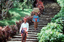 Man, Woman, steps, s-curve, Bali, Indonesia, PDCV01P01_08