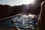 swimming pool, Mill Valley, California, PDEV01P05_16