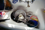 Kitchen sink, knives, faucet, sieve, Dirty Dishes, PDKV01P06_08