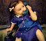 Girl, Dial Phone, Playing, 1950's, PDPV01P10_16B