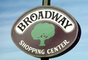 Broadway shopping center, mall, signage, sign, Shopping Center, 1980's