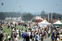 tent, crowds, crowded, Crissy Field, The Presidio, San Francisco, 6th May 2001, PFFV04P09_15
