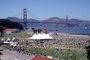 Opening Day Crissy Field, Pavilion Tent, People, Crowds, 3rd May 2001, PFFV04P09_16