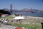 Opening Day Crissy Field, Pavilion Tent, People, Crowds, 3rd May 2001, PFFV04P09_17