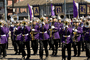Purple Marching Band, Brass Instruments, Music