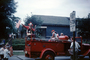 Clown, Firetruck, Chicago, July 4th Parade, 1950's, PFPV07P07_05