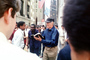 Crazy Preacher Preaching, Mentally Ill, Downtown Manhattan, Wall Street, New York City