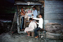 Barber, Haircutting,  along the Road in the Himalayas, Araniko Highway