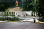 Traffic Signal Light, building, Christ's Biblical Garden, Christ in the Smokies, Gatlinburg, July 1961, 1960's, PFTV04P02_12