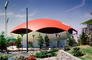 Traveler's Insurance Pavilion, Building, Red Umbrella Dome, New York Worlds Fair, 1964, 1960's, PFWV01P13_03