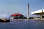 Traveler's Insurance Pavilion, Building, Red Umbrella Dome, New York Worlds Fair, 1964, 1960's, PFWV02P05_11