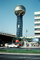 Sunsphere, Gold Globe, Knoxville World's Fair, 1982, Tennessee, The 1982 World's Fair, 1980's, PFWV02P11_04