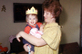 crown, smiles, arm, girl, one year old, Woman, Happy, cute, May 1966, 1960's, PHBV03P05_15
