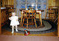 Girl, Top, Toy, Chair, Rug, 1950's, PHBV03P06_08