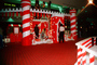 candy cane, fantasyland, shopping mall, castle, Santa Clause Castle