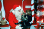 candy cane, Santa Claus, Child, wishes, girl, shopping mall
