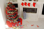 Christmas Tree, Christmas Tree decorated, decorations, presents, PHCV02P04_16