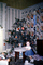 girl, toddler, tinsel, wallpaper, Presents, Decorations, Ornaments, Tree, 1940's, PHCV02P10_10