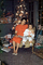 Mom, Daughter, Girl, pajama, Female, Woman, Presents, Decorations, Ornaments, Tree, 1940's, PHCV02P10_19