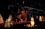 Pooh Bear, santa claus, lights, Night, Exterior, Outdoors, Outside, Nighttime, PHCV04P03_08