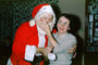 Santa Claus with Mom, Funny, Laughing, 1950's, PHCV04P12_13