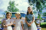 Girls, Dress, Sisters, 1950's, PHEV01P02_05