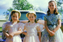 Girls, Dress, Sisters, 1950's, PHEV01P02_05B