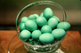 Green Easter Eggs, Basket, PHEV01P04_13