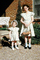 Sisters, Girls, Dress, Shoes, Bonnet, Hat, Eggs, Basket, March 1951, 1950's, PHEV01P07_18