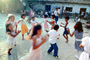 musical chairs, Elementary School, Yelapa, Mexico, Dance