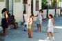 Girls, Playing, Fun, Smiles, Isla Mujeres, Mexico