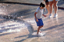 Water Fountain, aquatics, Boy, Splashing, splash fountain, PLGV02P15_02