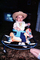 Rocking Horse, Cowboy, Hat, Toddler, PLGV03P06_15