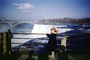 Prospect Point, Waterfall, Niagara Falls, December 1953, 1950's, PLPV01P01_12
