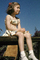 Girl Sitting, contmplating, July 1948, 1940's, PLPV01P01_16B