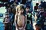 Malnourished Girl, Mumbai, India, Malnutrition, Hungry, Ribs, Slums, Female, PLPV03P12_17