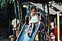 Girl on a Slide, Mumbai, India, PLPV03P13_11