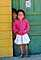 Brother and Sister, Girl, Boy, Smiles, Door, Doorway, siblings, Colonia Flores Magone, green-door, PLPV06P13_14.0848